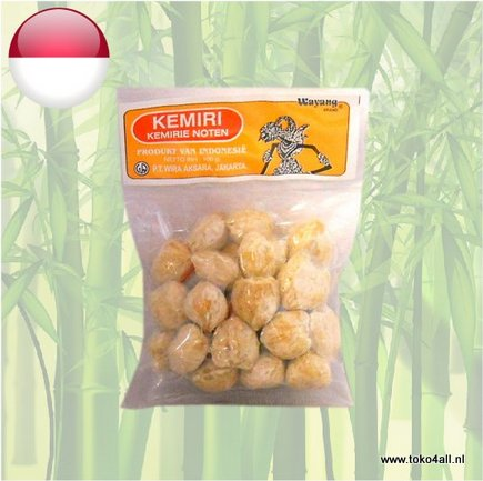 Toko 4 All - Candle Nuts 100 gr Wayang Brand