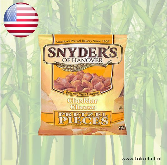 Toko 4 All - Cheddar Cheese Pretzel Pieces 125 gr Snyders of Hanover