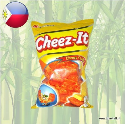 Toko 4 All - Cheez It Cheezy crackers 95 gr Nutri Snack