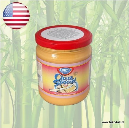 Toko 4 All - Cheez Spread Regular 454 gr Ladys Choice