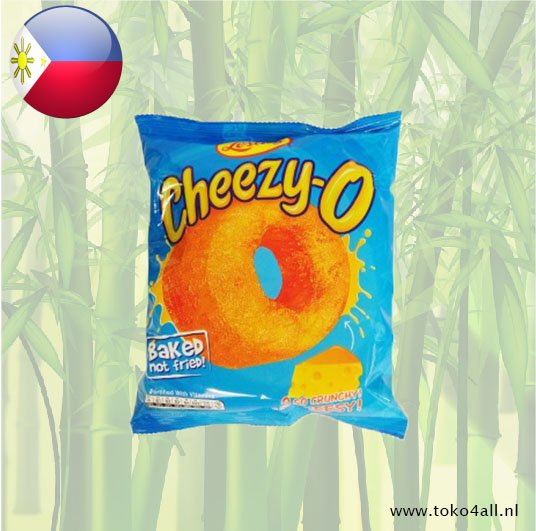 Toko 4 All - Cheezy O Baked Corn Snack 60 gr Leslies