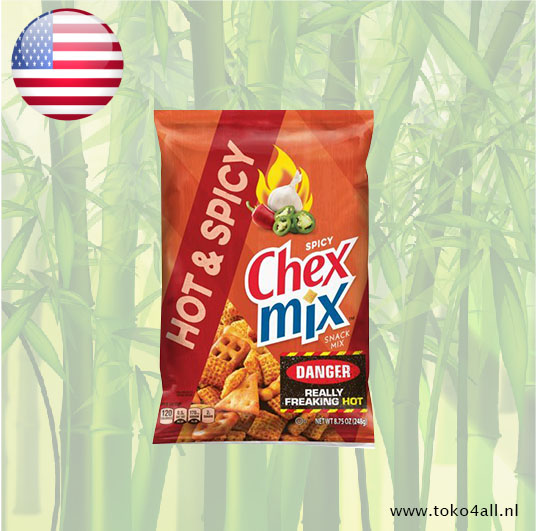 Toko 4 All - Chex Mix Hot & Spicy 248 gr General Mills
