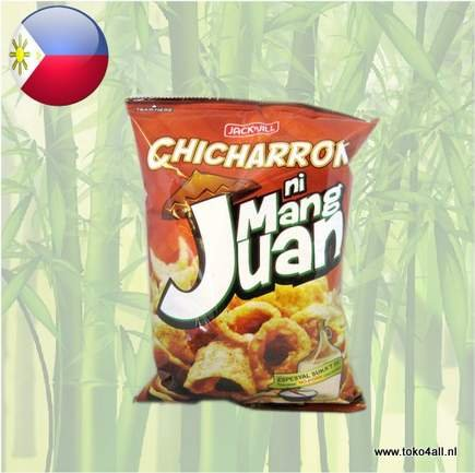 Toko 4 All - Chicharron Suka at Sili Ni Mang Juan 90 gr Jack N Jill