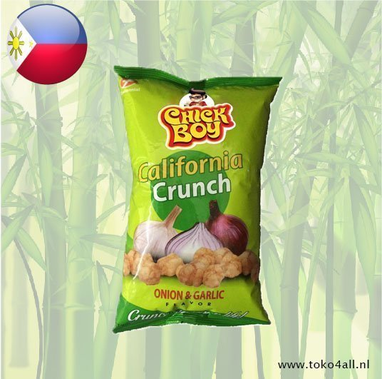 Toko 4 All - My Little Philippines - Chick Boy Californian Crunch Onion Garlic 100 gr Hobe