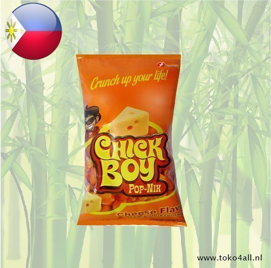 Toko 4 All - Chick Boy Pop Nik Cheese Flavour 100 gr Hobe
