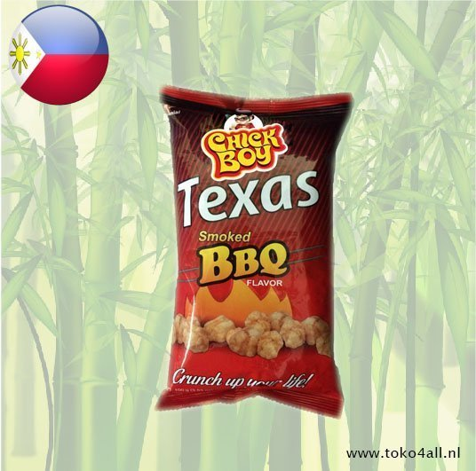 Toko 4 All - Chick Boy Texas Smoked BBQ 100 gr Hobe