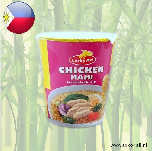 Toko 4 All - My Little Philippines - Chicken Mami Instant Noodle soup 70 gr Lucky Me