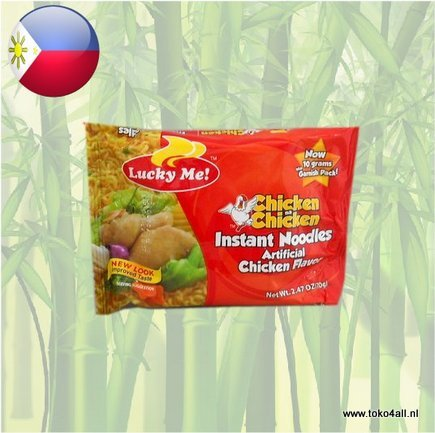 Toko 4 All - Chicken Na Chicken Instant Noodles 70 gr Lucky Me