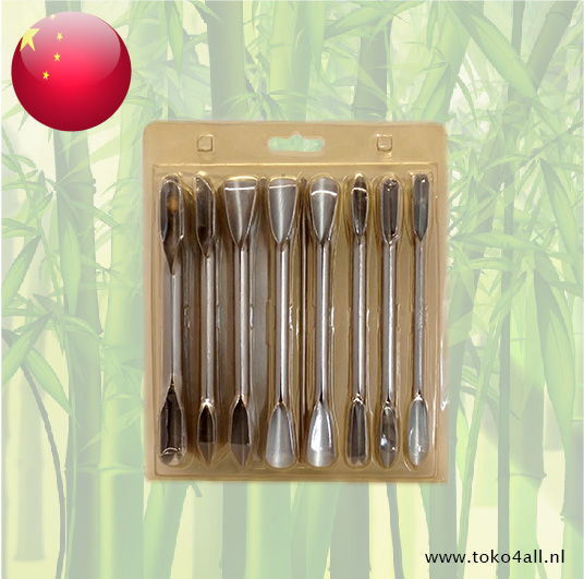 Toko 4 All - Chinese Carving Knife Set 17 Pcs