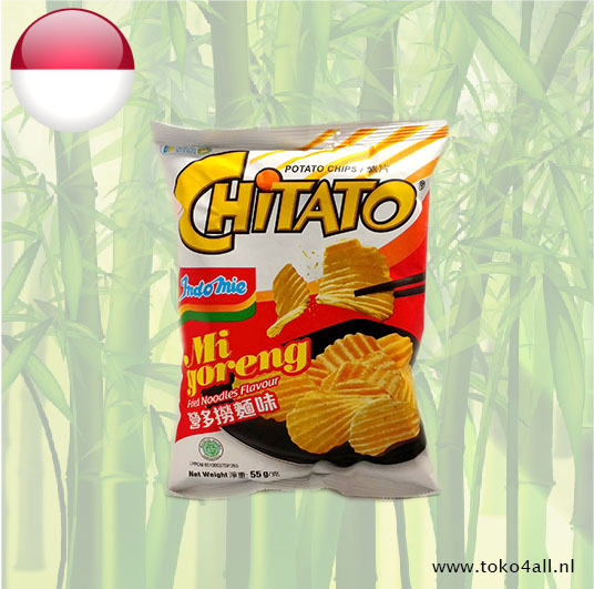Toko 4 All - Chitato Mi Goreng Chips 55 gr Indomie