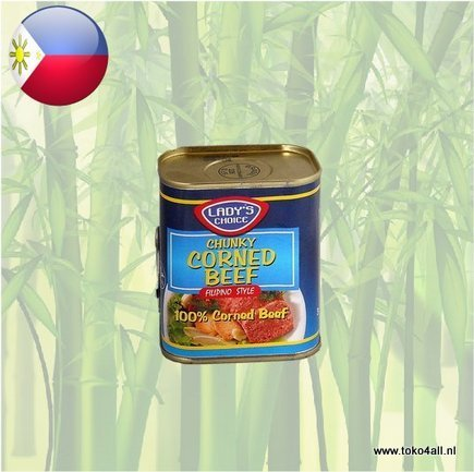 Toko 4 All - Chunky Corned Beef 340 gr Ladys Choice