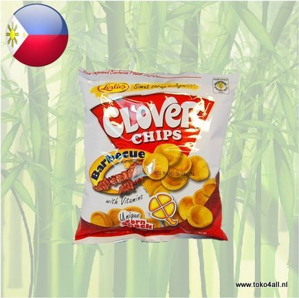 Toko 4 All - Clover Chips BBQ 85 gr Leslies