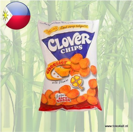 Toko 4 All - Clover Chips Cheesier 145 gr Leslies