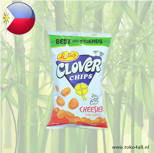 Toko 4 All - Clover Chips Cheesier 85 gr Leslies