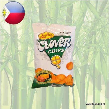 Toko 4 All - Clover Chips Ham Cheese 155 gr Leslies