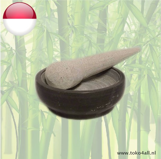 Toko 4 All - My Little Philippines - Cobek Mortar and pestle 18 cm