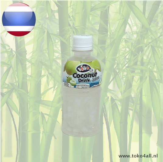 Toko 4 All - Coconut drink with nata de coco 6 x 320 ml Bonko