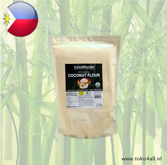 Toko 4 All - Coconut flour 1 kg Coco Wonder