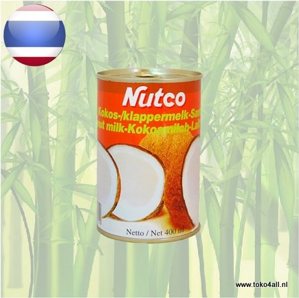 Toko 4 All - Coconut Milk 400 ml Nutco