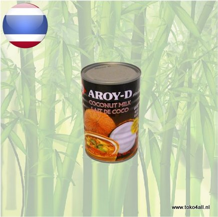Toko 4 All - Coconut milk for Cooking 400 ml Aroy D