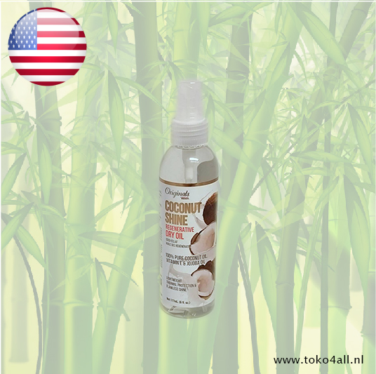 Toko 4 All - Coconut Shine Regenerative Dry Oil 177 ml Africa's Best