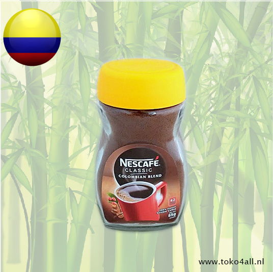 Toko 4 All - Colombian Blend Instant coffee 85 gr Nescafe(KOPIE)