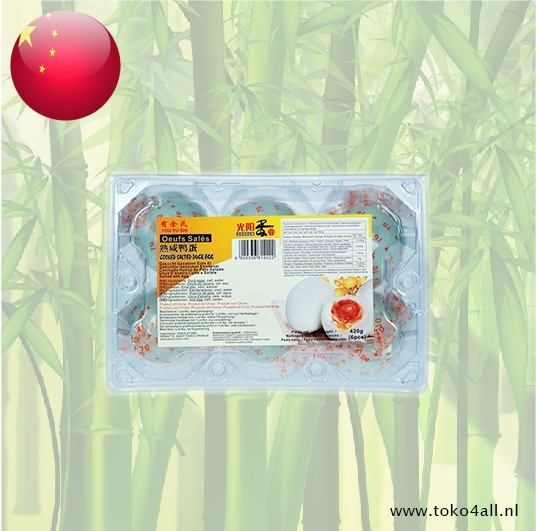 Toko 4 All - Cooked Salted Duck Eggs 6 x 70 gr Goosun