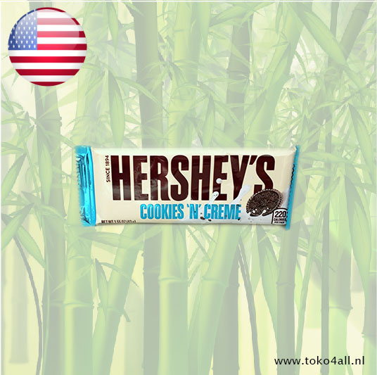Toko 4 All - My Little Philippines - Cookies 'N' Creme bar 43 gr Hershey's