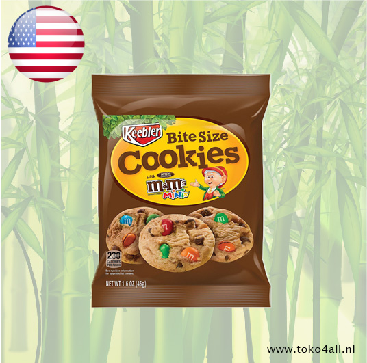 Toko 4 All - Cookies with M&M's Mini's 45 gr Keebler