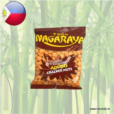 Toko 4 All - Cracker Nuts Adobo 160 gr Nagaraya