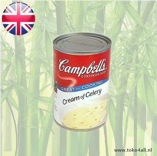 Toko 4 All - Cream of Celery Soup 295 gr Campbells
