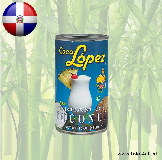 Toko 4 All - Cream of Coconut 425 gr Coco Lopez