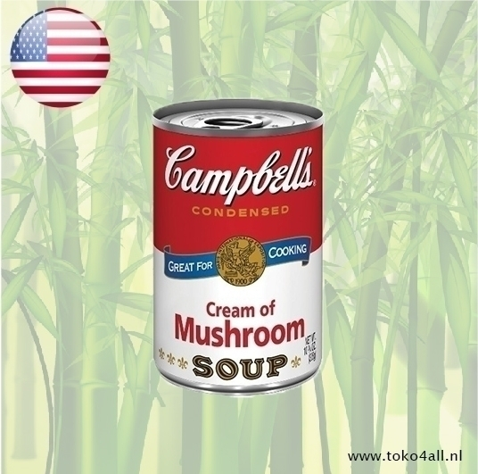 Toko 4 All - Cream Of Mushroom Soup 298 gr Campbells