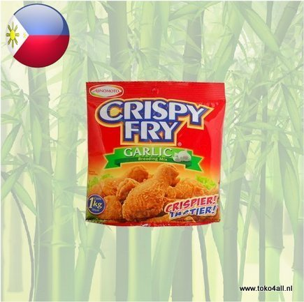Toko 4 All - Crispy Fry Breading Mix Garlic 62 gr Ajinomoto