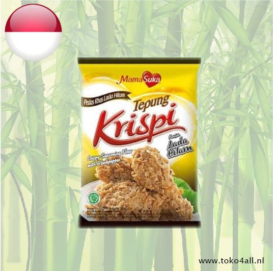 Toko 4 All - Crispy Seasoning Flour With Blackpepper 180 gr Mama Suka