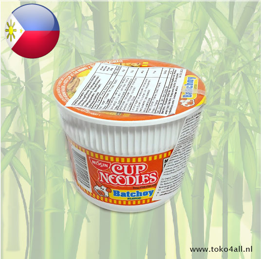 Toko 4 All - Cup Noodles with Batchoy Flavor 40 gr Nissin