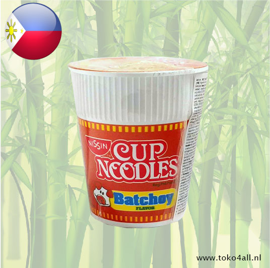 Toko 4 All - Cup Noodles with Batchoy Flavor 60 gr Nissin