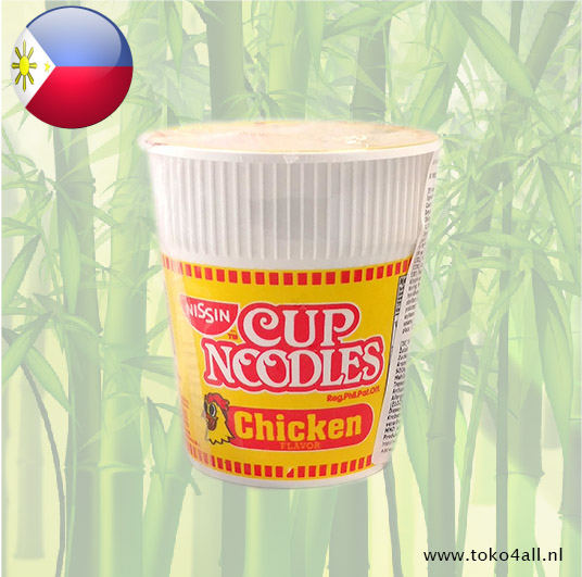 Toko 4 All - Cup Noodles with Chicken Flavor 60 gr Nissin