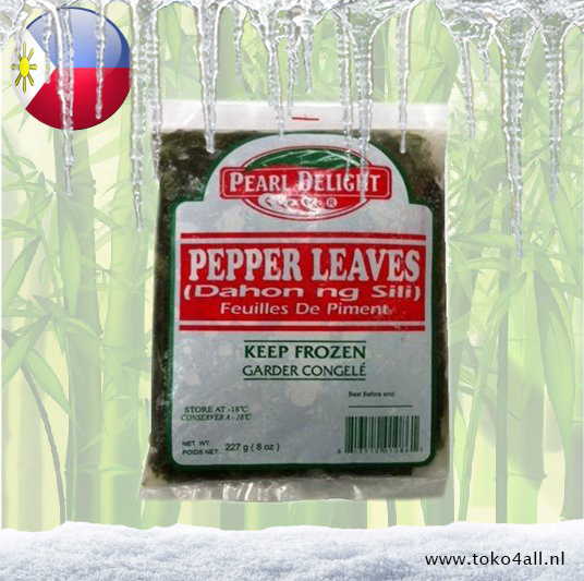 Toko 4 All - Dahon Ng Sili Pepper leaves 227 gr Pearl Delight