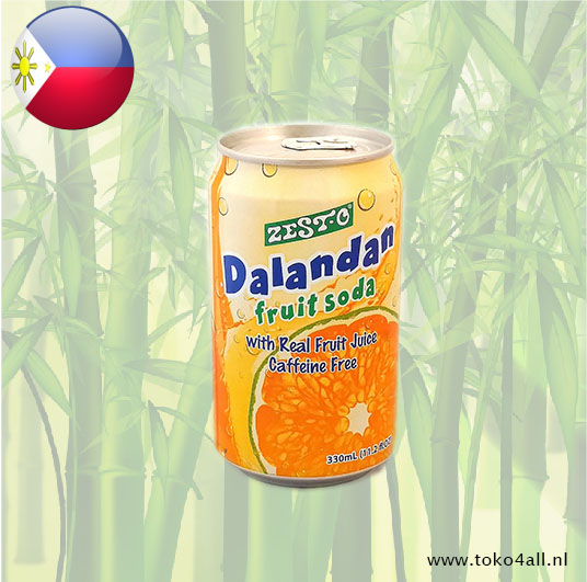 Toko 4 All - Dalandan fruit soda 330 ml Zest-O