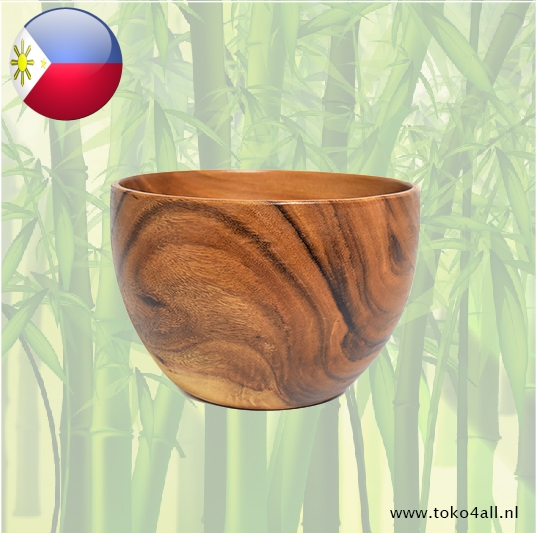 Toko 4 All - Deep bowl (large) 30 x 30 x 10 cm Kahoy