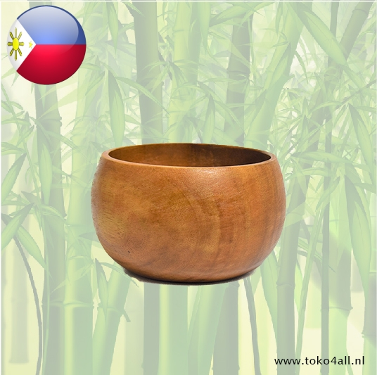 Toko 4 All - Deep bowl (small) 12 x 12 x 7 cm Kahoy