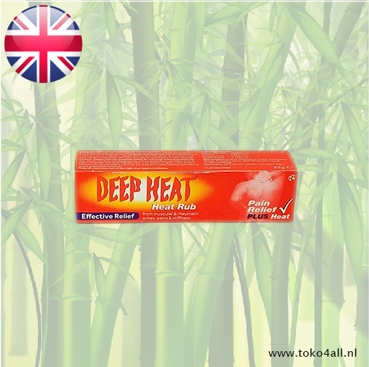 Toko 4 All - Deep Heat Pain Relief creme 35 gr Mentholatum