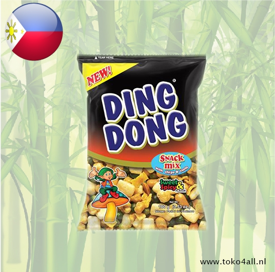 Toko 4 All - My Little Philippines - Ding Dong Snack Mix Sweet and Spicy 100 gr JBC