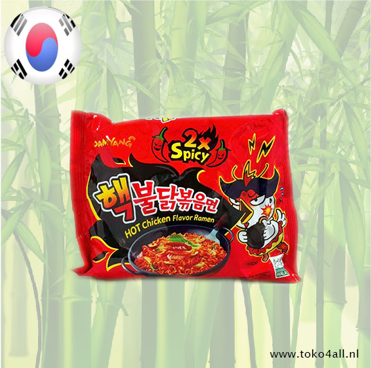 Toko 4 All - Double Spicy Hot Chicken Ramen 140 gr Samyang
