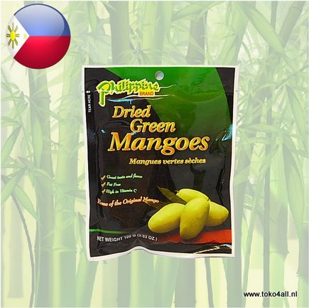 Toko 4 All - Dried Green Mango 100 gr Philippine Brand