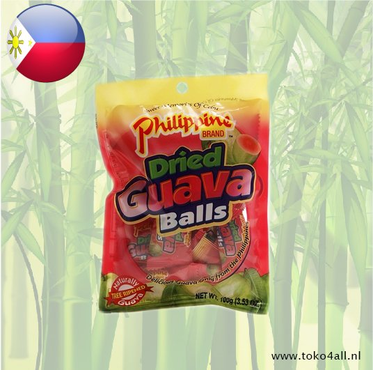 Toko 4 All - Dried Guava Balls 100 gr Philippine Brand