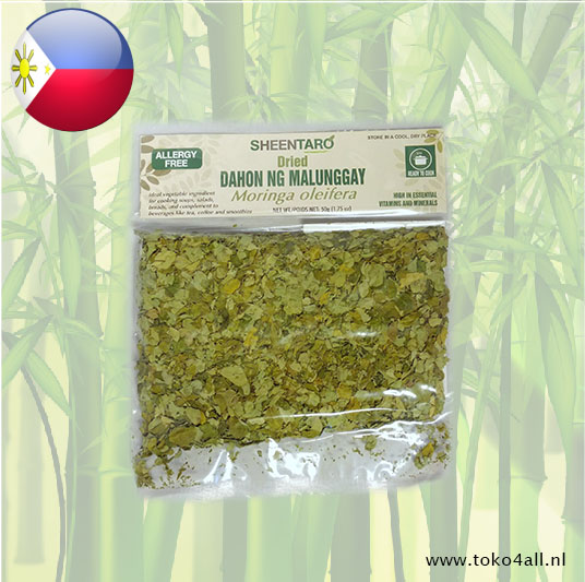 Toko 4 All - Dried Malunggay Horseradish Leaves 50 gr Sheentaro