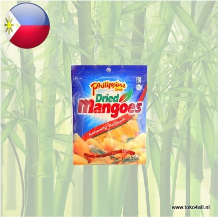 Toko 4 All - Dried Mango 100 gr Philippine Brand