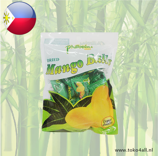 Toko 4 All - Dried Mango Balls 100 gr Philippine Brand